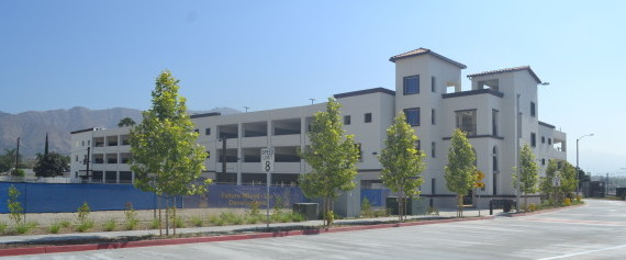 The Azusa downtown parking facility is located adjacent to a future mixed-use development. The City plans to use the city-owned garage spots to complement the development in the near future.