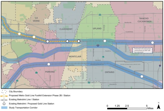 SCAG's L.A.-San Bernardino Counties area of study. Source: http://www.scag.ca.gov/programs/Pages/InterCountyTransitRail.aspx