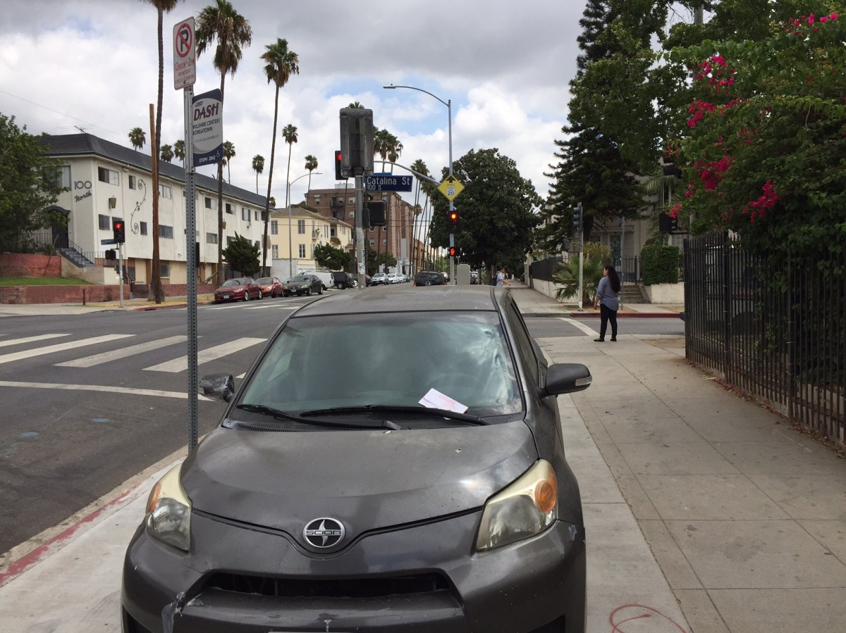 City Of Los Angeles Parking Citation Search >> Eyes on the Street: L.A. Ticketing Cars Parked Illegally On Parkways – Streetsblog Los Angeles