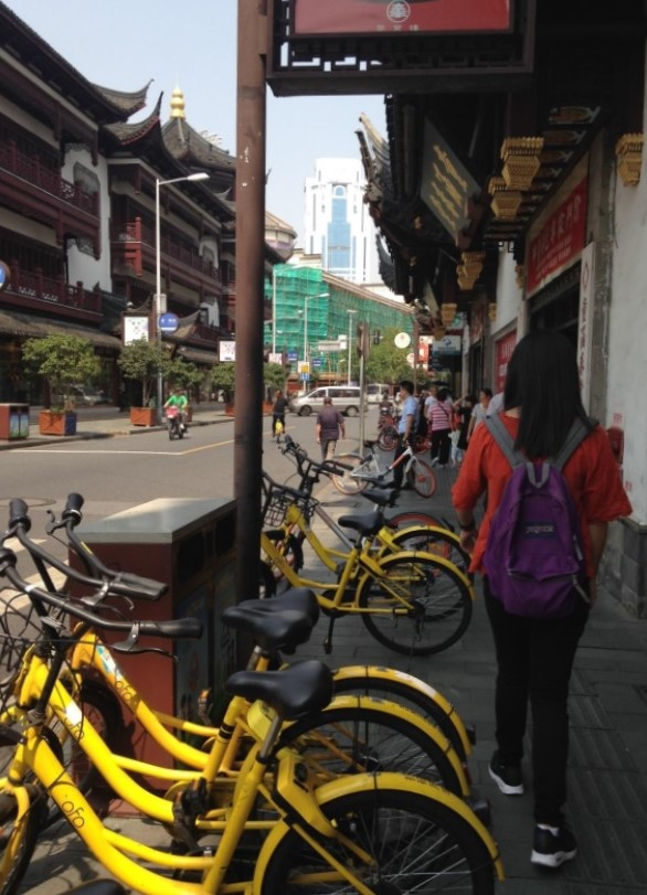 Dockless Shared Bikes: From China… To Los Angeles?