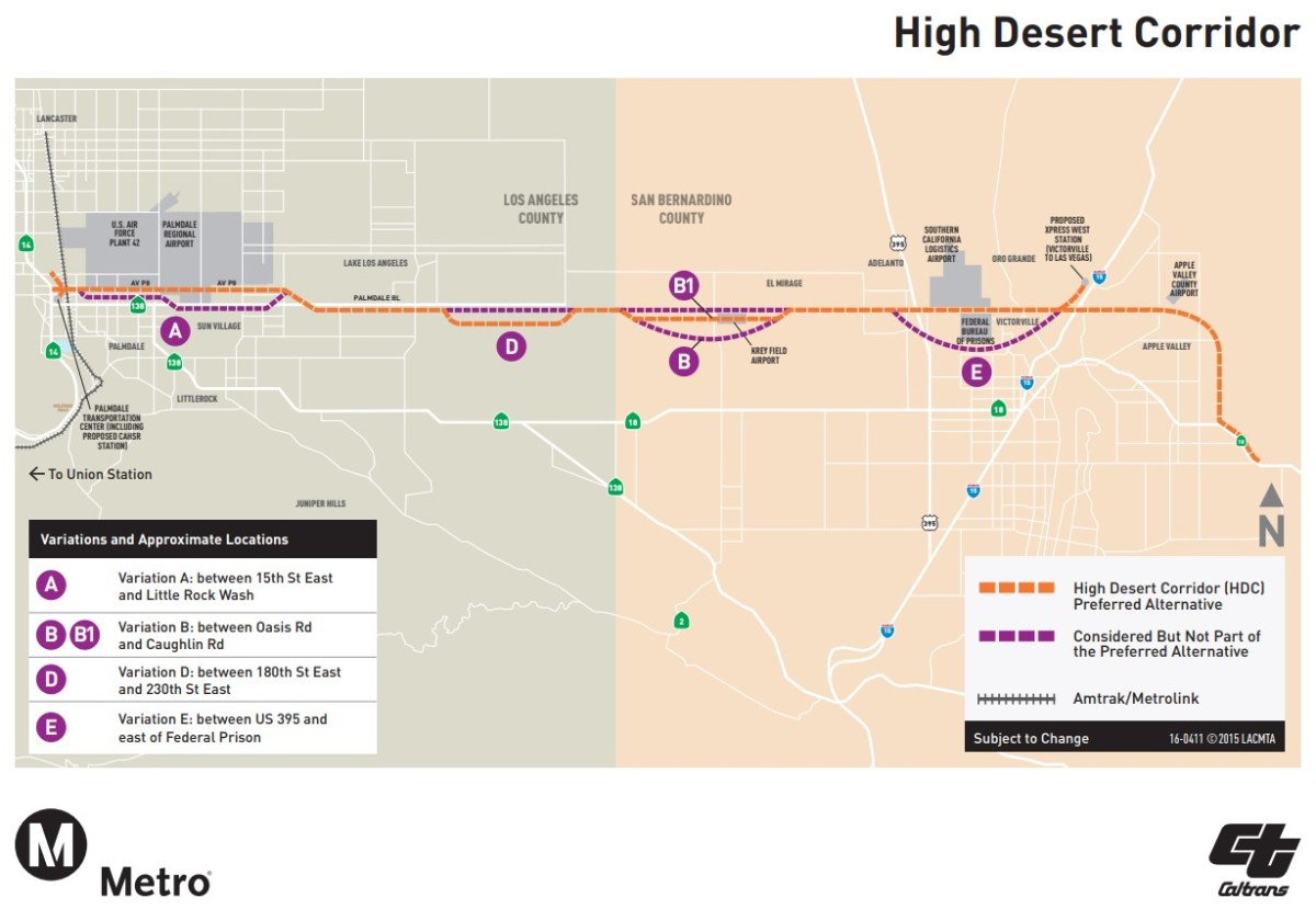 Subway Map Wall Art Endpoints.Wrongheaded High Desert Freeway Named A Top National Boondoggle