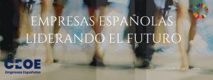 """Ignacio Osborne, Javier Garat y Federico Linares participan en la cumbre """"Empresas españolas liderando el futuro"""", que organiza la CEOE"""
