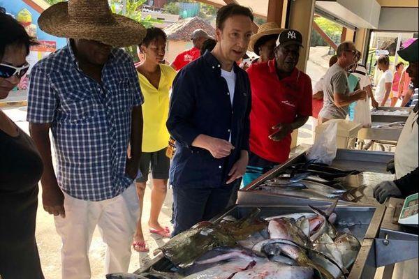 Marché aux poissons des Anses-d'Arlet