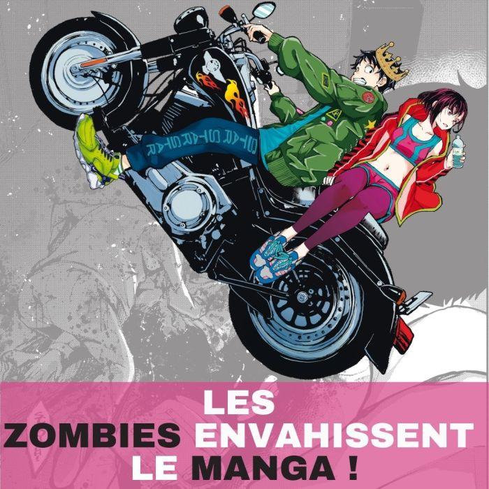 Les zombies envahissent le manga !  – La 5e de Couv' – #5DC – Saison 6 épisode 38