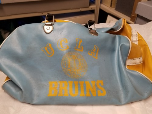 small resolution of rafer johnson s ucla athletic bag