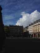 Cielo parisino.