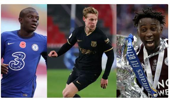 Best diffensive midfielders