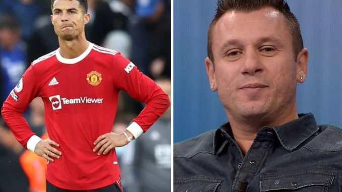 Cassano and Ronaldo