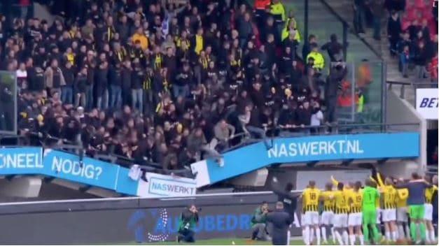 Vitesse stand collapse