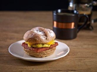 Breakfast sandwich Spam Jalapengo