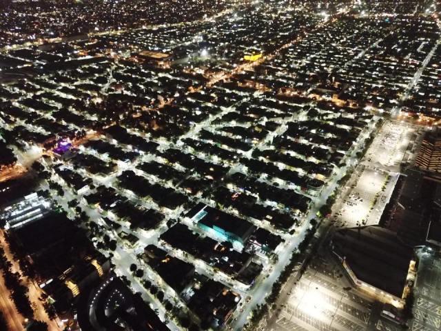 """""""Iluminemos tu alcaldía"""" un programa que brinda espacios seguros en la Gustavo A. Madero"""