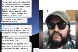 Denuncia Estefanía Veloz acoso y violencia de género en redes sociales
