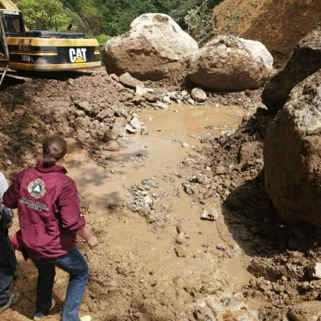Secretaría de Gobierno y Protección Civil realizan en Puebla giras de supervisión por afectaciones de lluvia