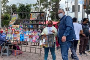 Diputado lanza jornada de información para prevenir COVID en mercados y tianguis de Tláhuac