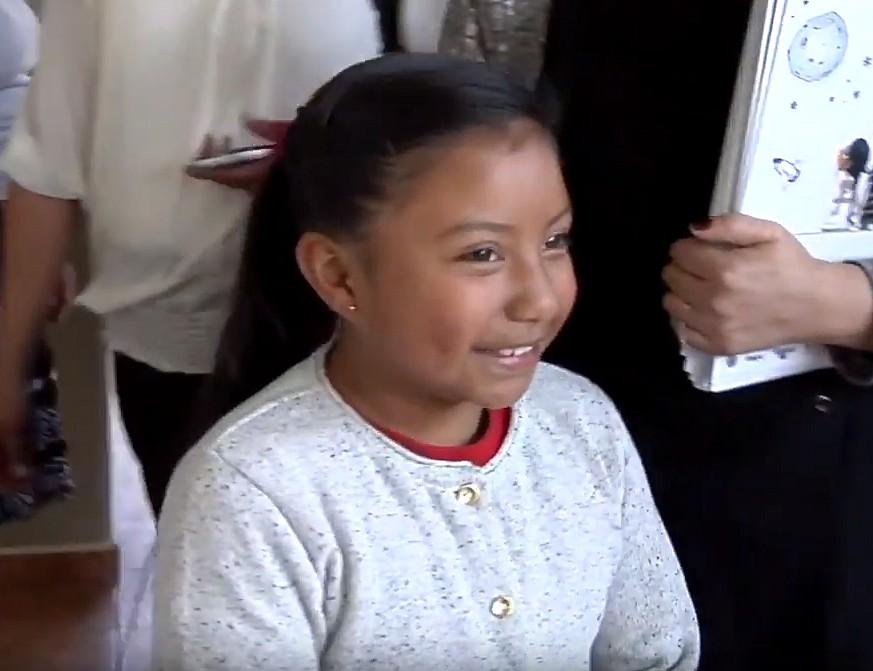 """Xóchitl Guadalupe Cruz López fue incluida en la revista """"Time"""""""