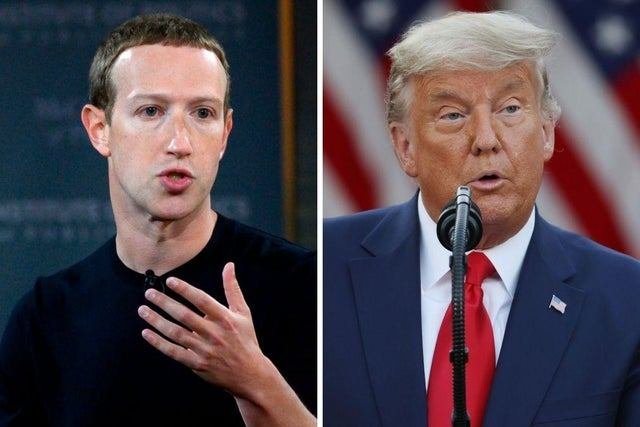 Zuckerberg: cuentas de Trump de Facebook e Instagram seguirán suspendidas