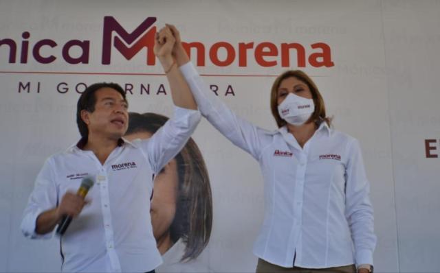 Morena y sus candidatos en San Luis Potosí son la Cuarta Transformación: Mónica Rangel