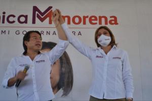 Mónica Rangel, ganadora del primer debate entre candidatos en San Luis Potosí