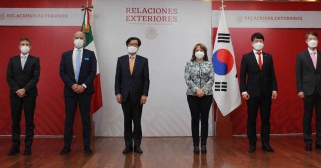 Corea del sur donó insumos médicos a México para la lucha contra Covid