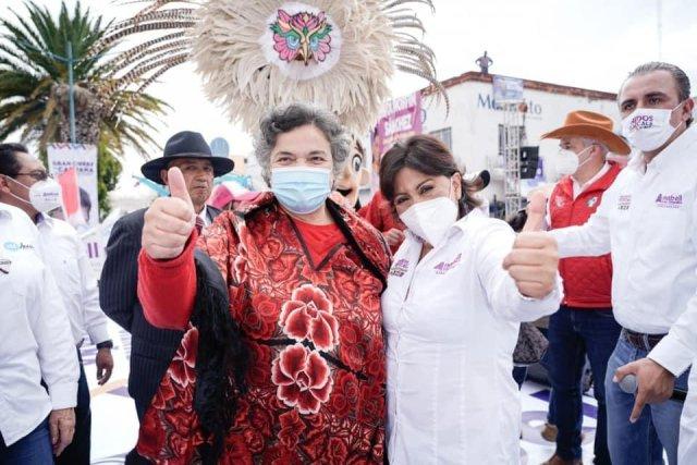 Anabell Ávalos en Tlaxcala va al frente en la preferencia electoral