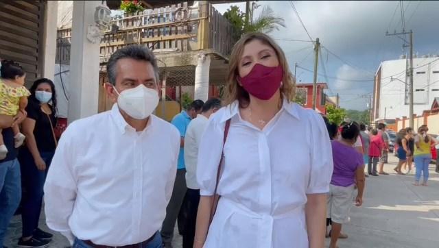 """""""Lugar donde reside la Gobernadora"""", Tamazunchale San Luis Potosí, es el lugar donde la candidata Mónica Rangel ejerció su derecho cuidadano de votar"""