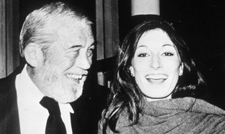 John and Anjelica Huston