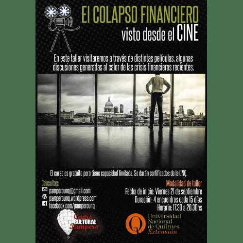 Seminario sobre el colapso financiero visto desde el cine