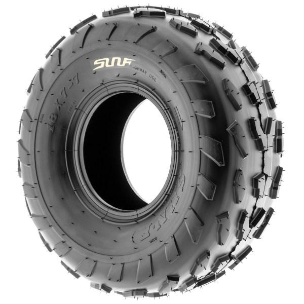 Set Of 4 18x7-7 18x7x7 Atv Terrain Ply Tires