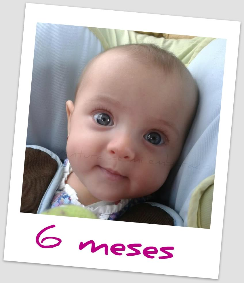 Mi Pequeña Princesa cumple 6 meses