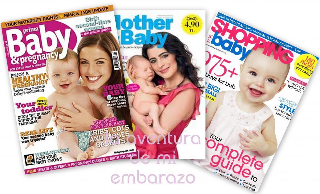 Revistas maternales, portabebés y meteduras de pata