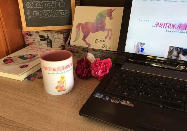 mesa de trabajo blogger