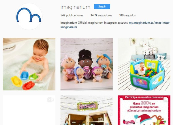 Imaginarium Instagram