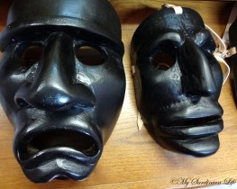 Masks of the Mamuthones.