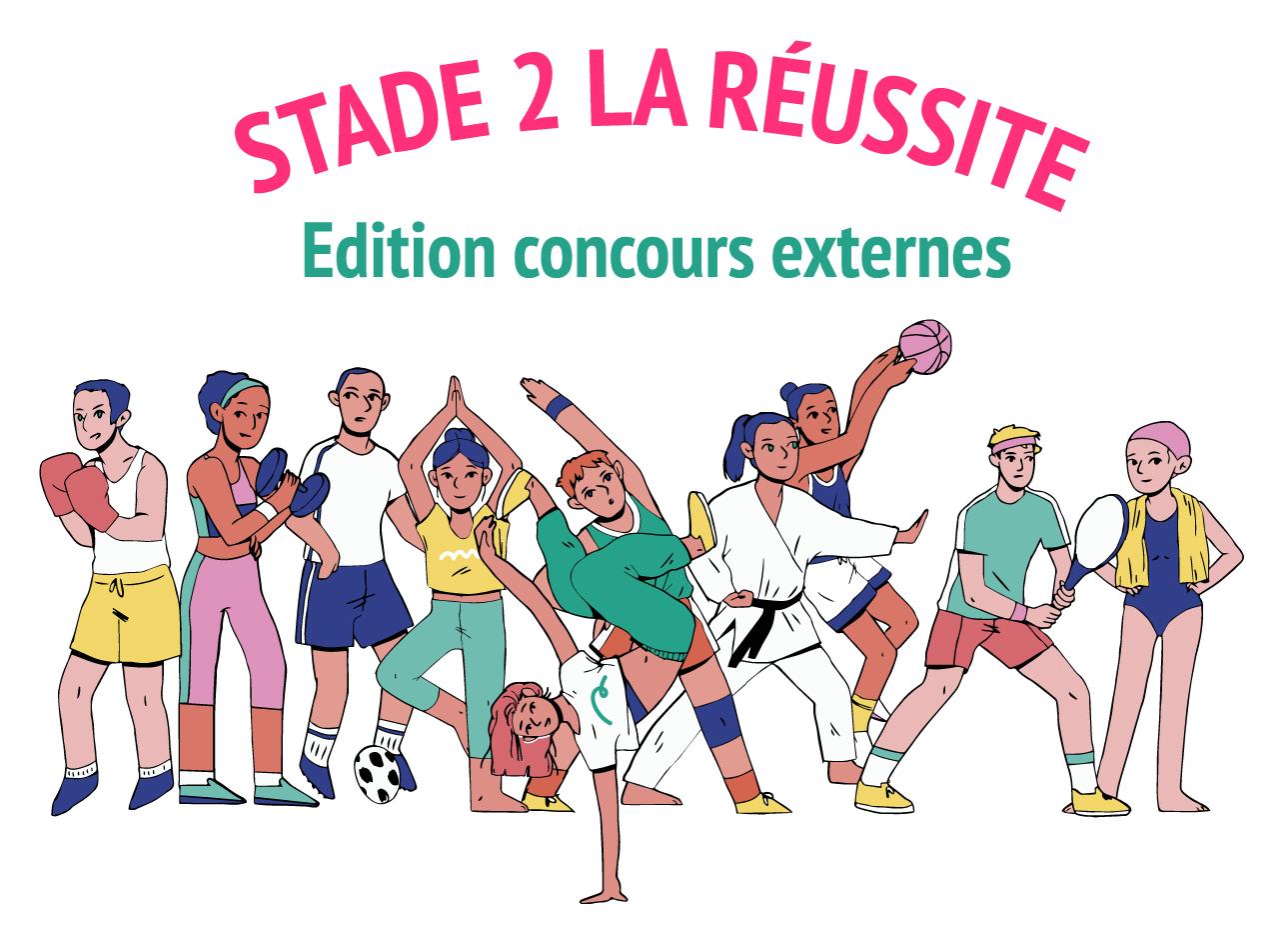 Stade 2 la réussite – Concours externes