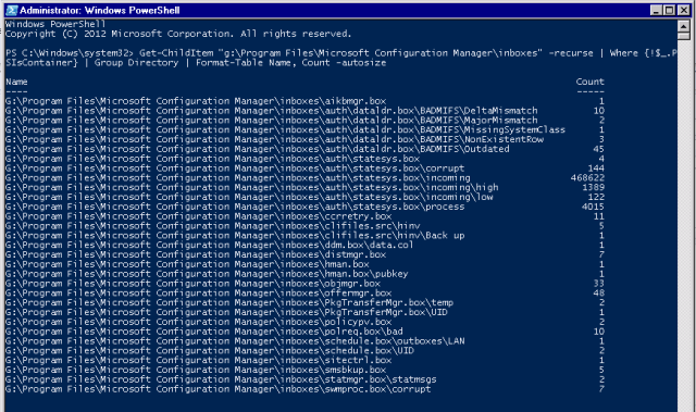 Using PowerShell to Help Clear a ConfigMgr Inbox Backlog