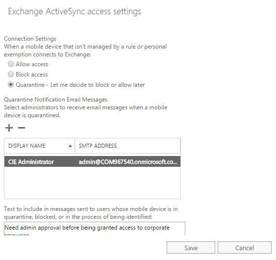 Intune Conditional Access and Selective Wipe–Caveats Abound – Lab Geek