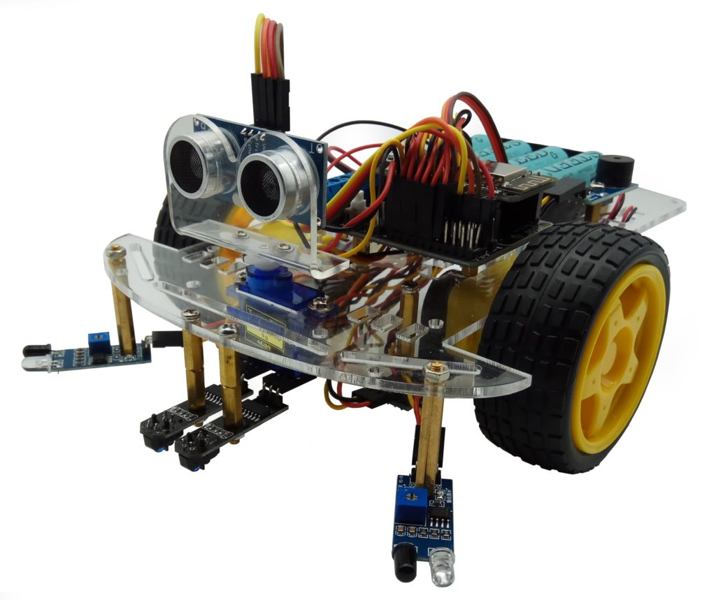 Simple Programmable Robot Using Snap Circuits Member Robot Tutorials