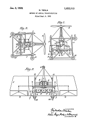 Tesla Patent 1,655,114