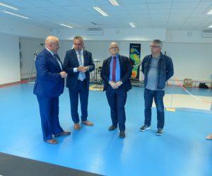 Wizyta Sekretarza Stanu w Ministerstwie Sportu i Turystyki Jarosława Stawiarskiego oraz Posła na Sejm, prof. Grzegorza Raczaka