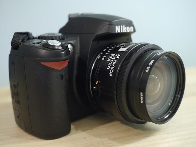 Nikon D40+AF nikkor 24mm F2.8Dで鞍ヶ池公園を撮ってきました。