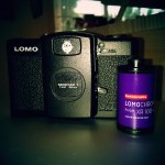 Lomography purple