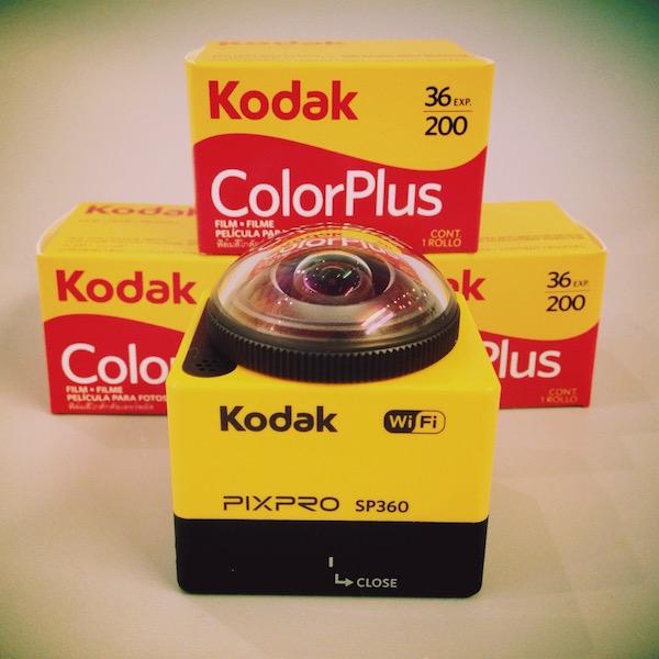 PIXPRO SP360 レビュー!コダックの最新アクションカメラで360度全方位動画!