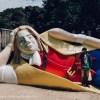 ガリバー旅行記を体験出来る!?安城市の秋葉公園にある巨大ガリバーを撮ってきた!