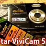 Vivitar ViviCam 5050:ビビッドモードが激しいトイデジ!