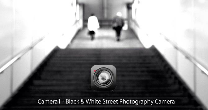 Camera1:雰囲気のあるピンボケ写真が撮れるモノクロ専用アプリ