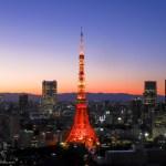 世界貿易センタービルから東京タワーを撮影!展望台からの夜景は最高でした!