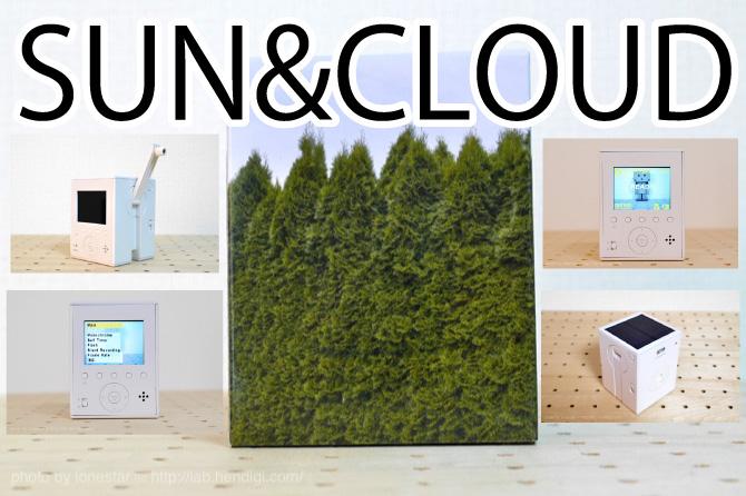 SUN&CLOUD(サンアンドクラウド)世界初の自家発電デジカメ!デジハリ4と同じような雰囲気の写真が撮れる!