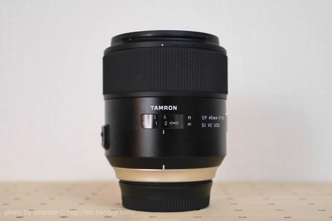 【TAMRON SP45mm F1.8VC】ポートレートにテーブルフォトにオールマイティーに使える便利な単焦点レンズ
