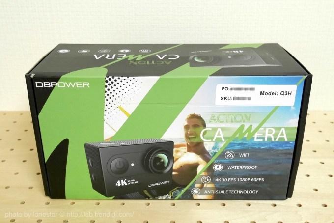 【20%オフ割引コードあり】7980円で買える格安アクションカメラ「DBPOWER 4K アクションカメラ」を試してみました。