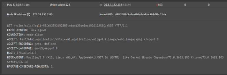 encoding attack block works
